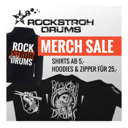 Rockstroh Drums Merchandise Sale